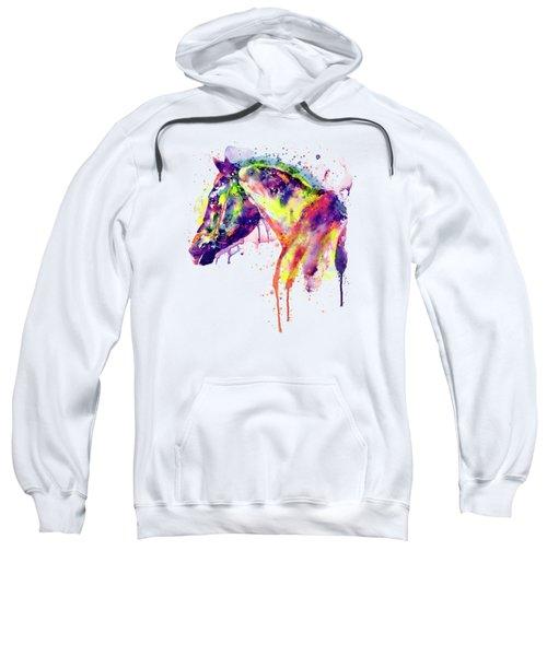 Majestic Horse Sweatshirt by Marian Voicu