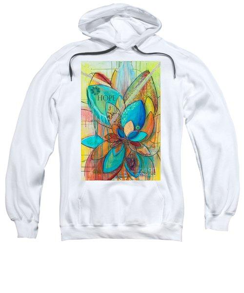 Spirit Lotus With Hope Sweatshirt