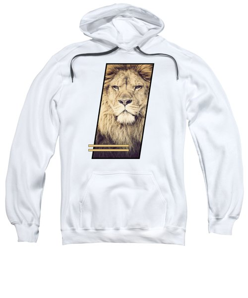 Male Lion Sweatshirt by Sven Horn