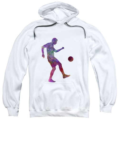 Man Soccer Football Player 04 Sweatshirt by Pablo Romero