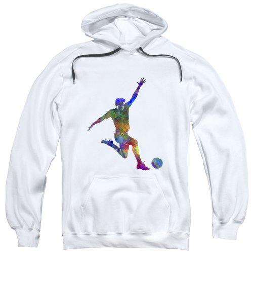 Man Soccer Football Player 05 Sweatshirt
