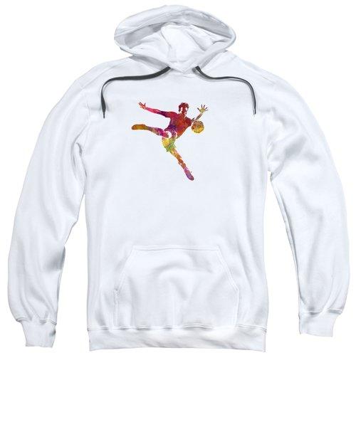 Man Soccer Football Player 08 Sweatshirt by Pablo Romero
