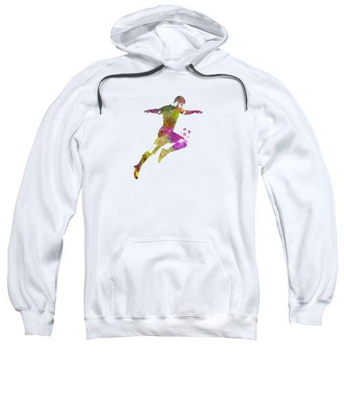 Man Soccer Football Player 12 Sweatshirt by Pablo Romero