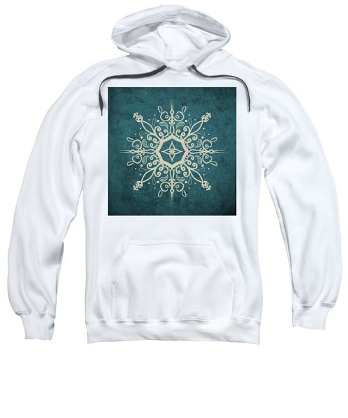 Mandala Teal And Tan Sweatshirt