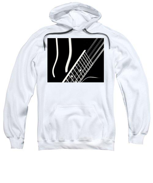 Mandolin Close Bw Sweatshirt