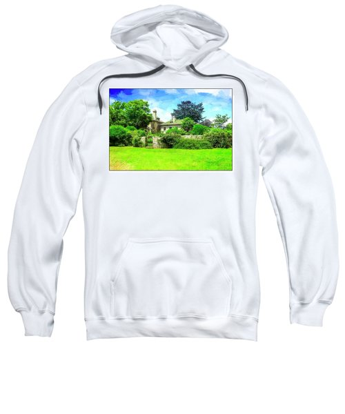 Mansion And Gardens At Harkness Park. Sweatshirt