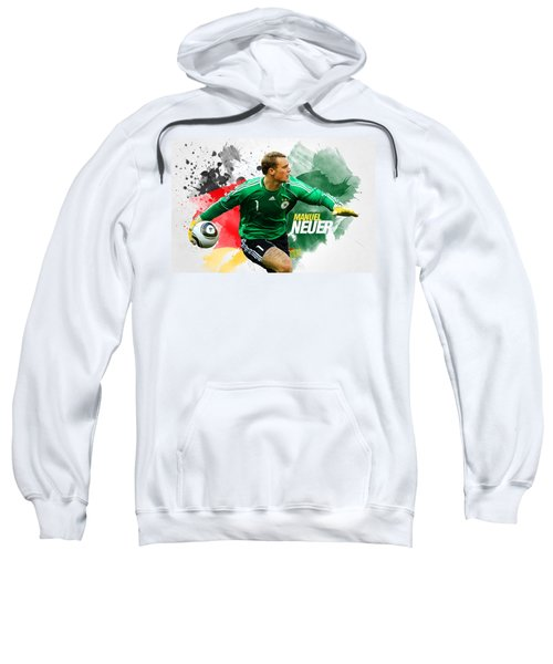 Manuel Neuer Sweatshirt by Semih Yurdabak