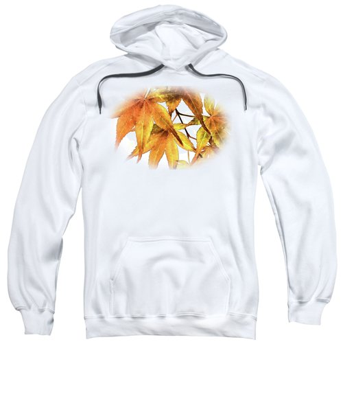 Maple Leaves Sweatshirt by Barry Jones