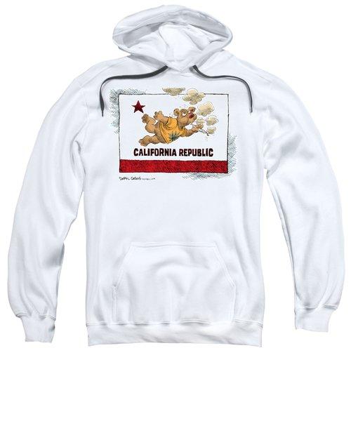 Marijuana Referendum In California Sweatshirt