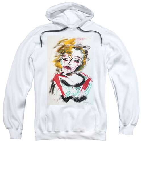 Marilyn Abstract Sweatshirt