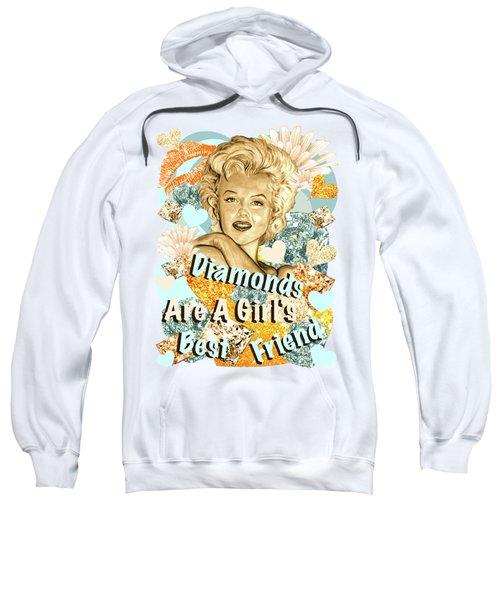 Marilyn Diamonds Are A Girls Best Friend Sweatshirt