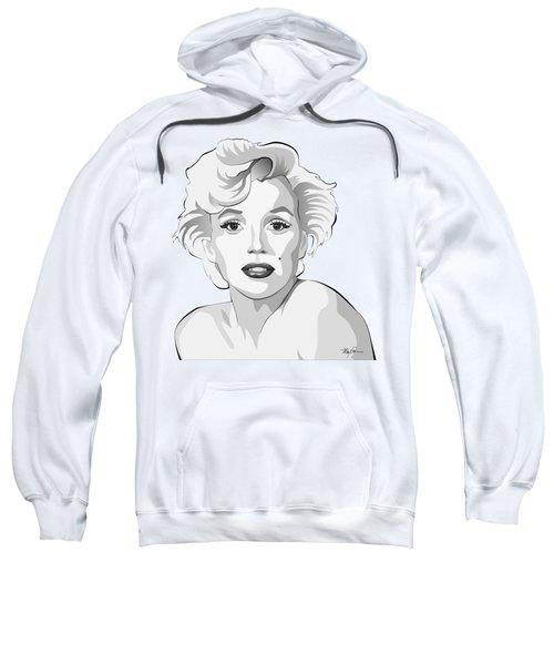 Marilyn Sweatshirt by Mary Zins