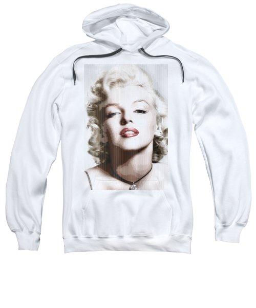 Marilyn Monroe - Colored Verticals Sweatshirt