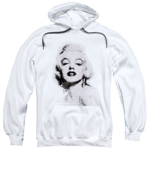 Marilyn Monroe Portrait 02 Sweatshirt