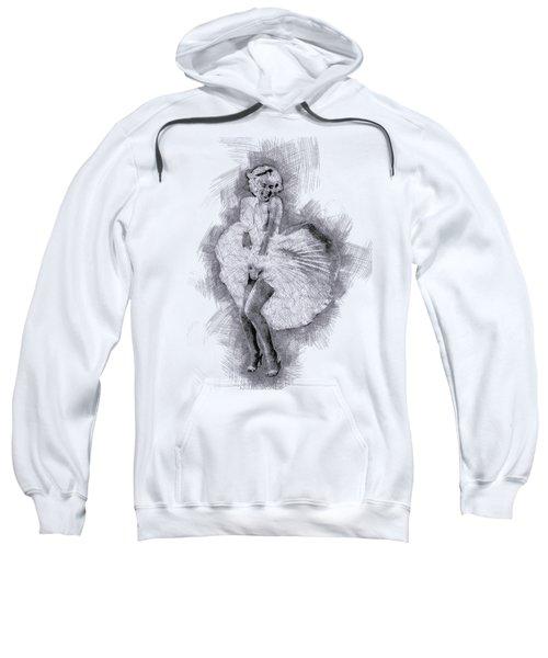 Marilyn Monroe Portrait 03 Sweatshirt