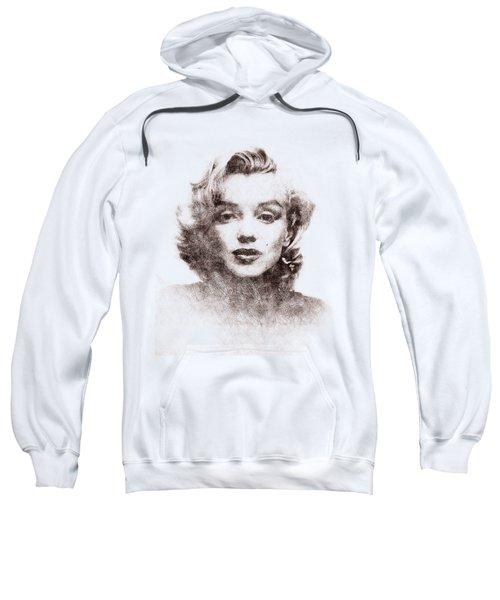 Marilyn Monroe Portrait 04 Sweatshirt