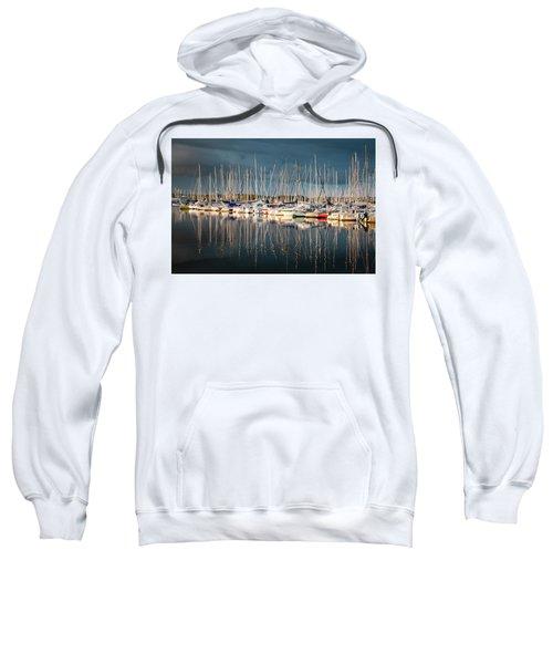 Marina Sunset 4 Sweatshirt
