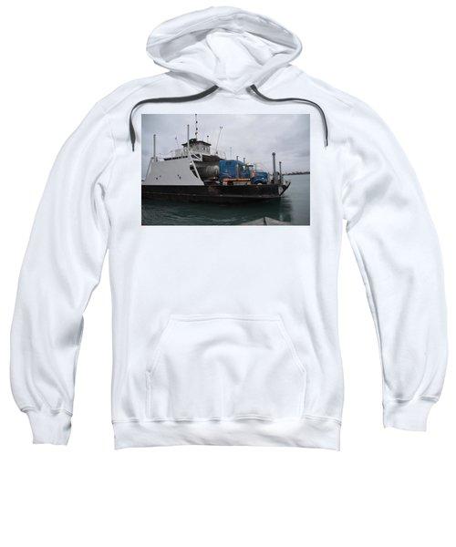 Marine City Mich Car Truck Ferry Sweatshirt