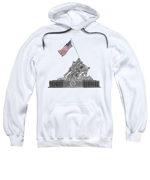 Marine Corps War Memorial - Iwo Jima Sweatshirt