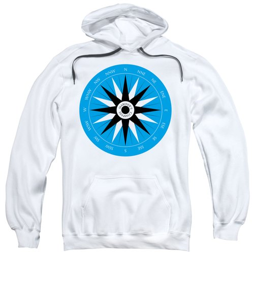 Mariner's Compass Sweatshirt by Frank Tschakert