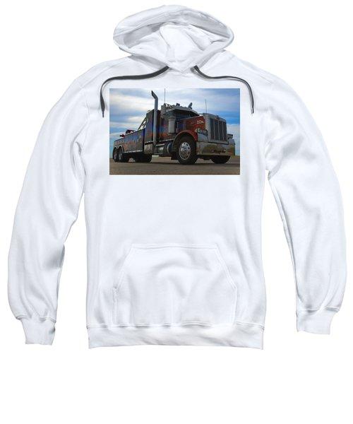 Marvins Big Rig Cars Movie Tribute Tow Truck Sweatshirt