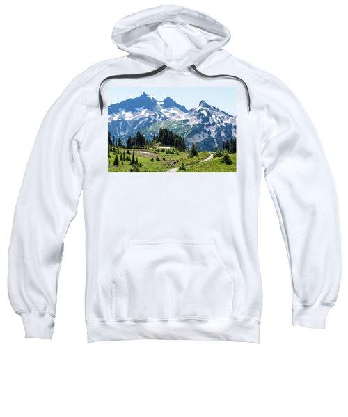 Mazama Ridge And Tatoosh Range Sweatshirt