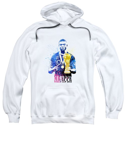 Mbappe And World Cup 2018 #france Sweatshirt