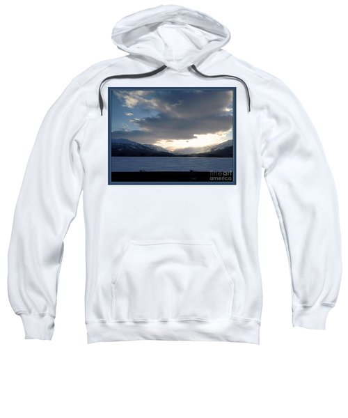 Sweatshirt featuring the photograph Mckinley by James Lanigan Thompson MFA