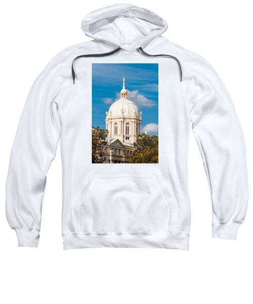 Mclennan County Courthouse Dome By J. Reily Gordon - Waco Central Texas Sweatshirt
