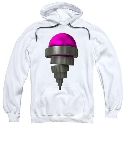 Mechaniccal Purple Ice Cream Sweatshirt