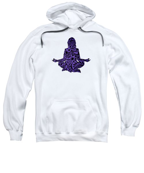 Meditate Ultraviolet Sweatshirt