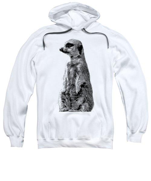 Meerkat Etching Sweatshirt