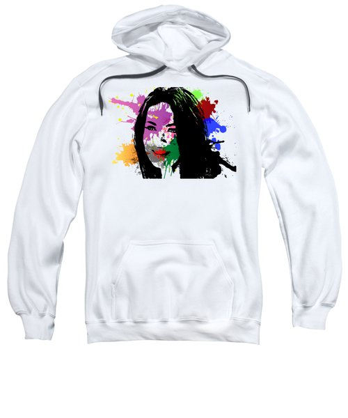 Megan Fox Pop Art Sweatshirt