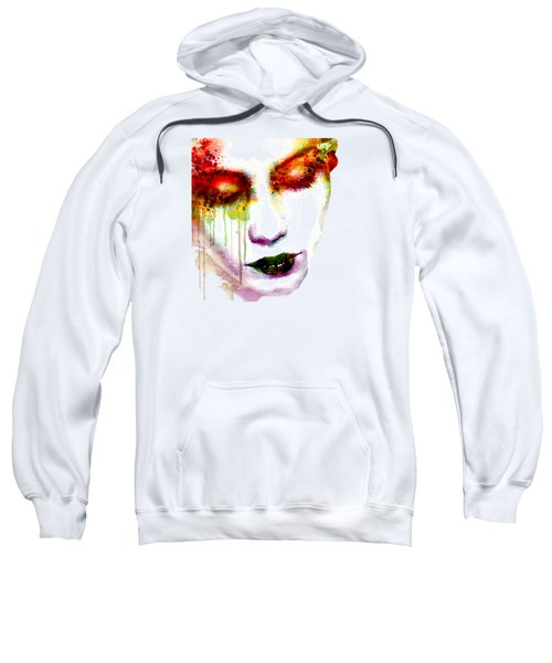 Melancholy In Watercolor Sweatshirt