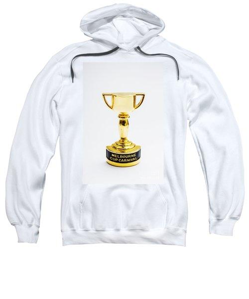 Melbourne Cup Horse Race Trophy Sweatshirt