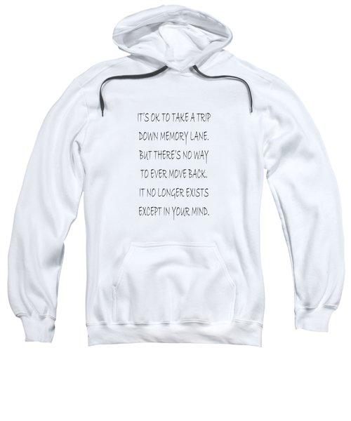 Memory Lane Poem Sweatshirt