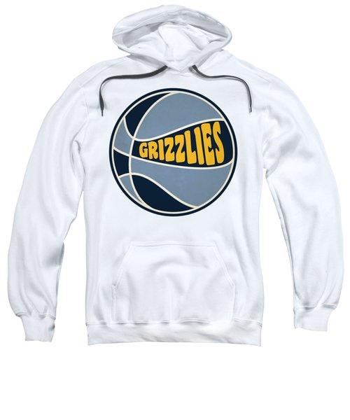 Memphis Grizzlies Retro Shirt Sweatshirt by Joe Hamilton