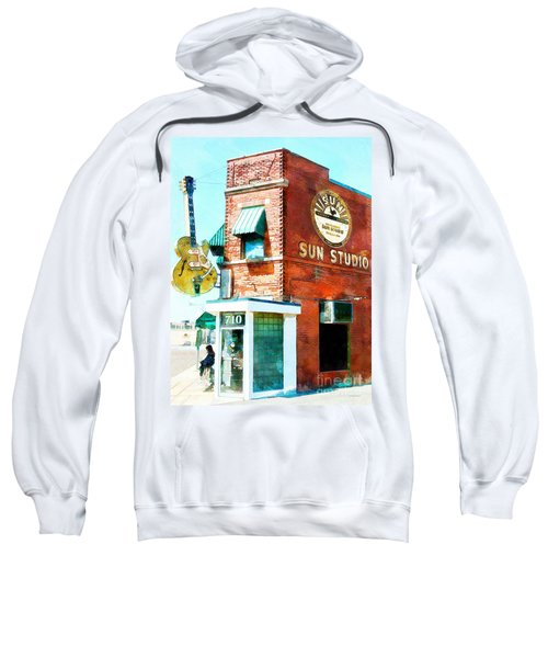 Memphis Sun Studio Birthplace Of Rock And Roll 20160215wcstyle Sweatshirt