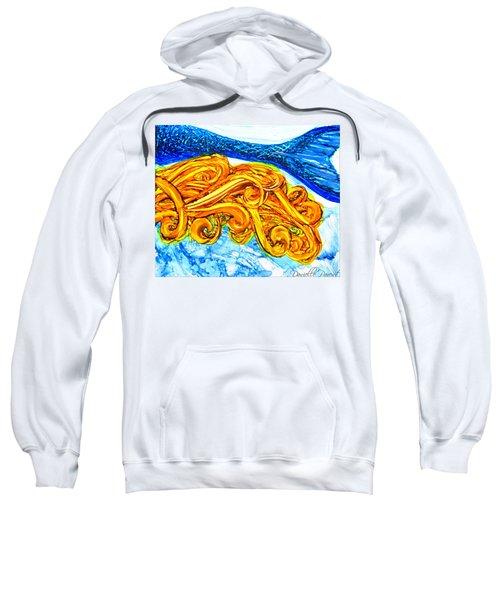 Mermaid Alcohol Inks Sweatshirt