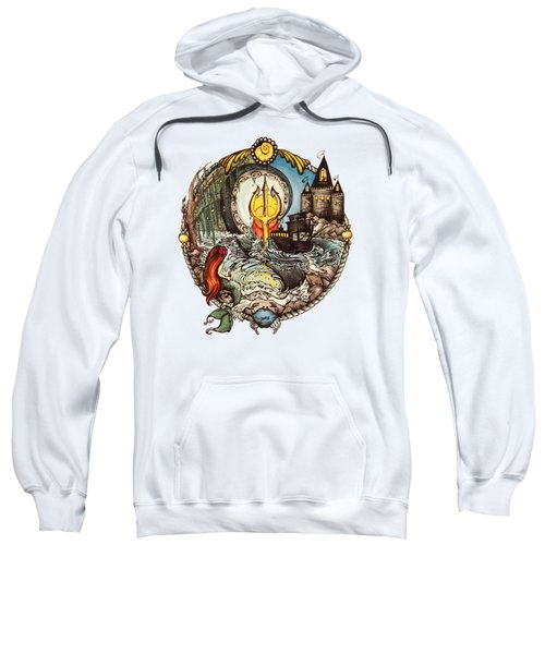 Mermaid Part Of Your World Sweatshirt by Cat Dolch