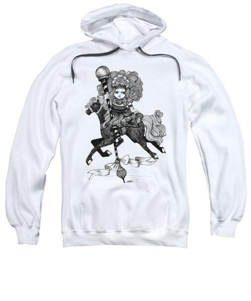 Merry-go-round Girl Sweatshirt
