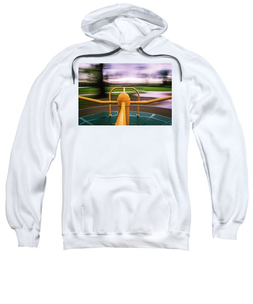Sweatshirt featuring the photograph Merry Go Round by Stephen Holst