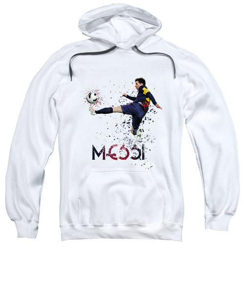 Messi Sweatshirt by Armaan Sandhu