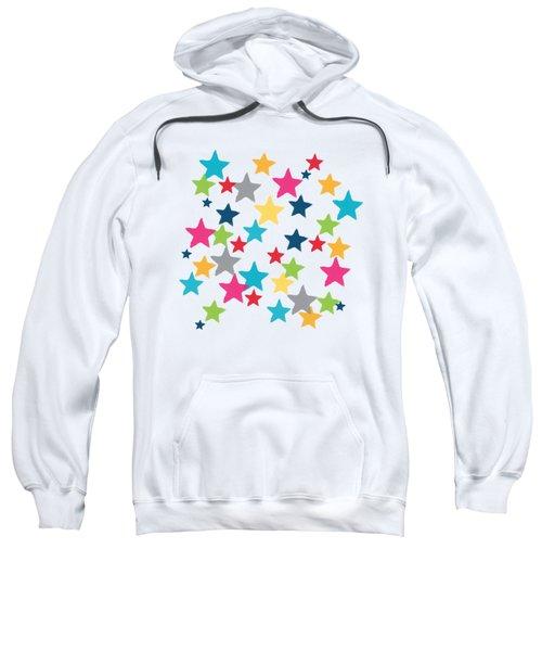 Messy Stars- Shirt Sweatshirt