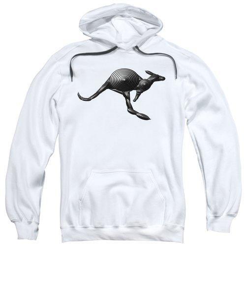 Metal Kangaroo Sweatshirt by Chris Butler