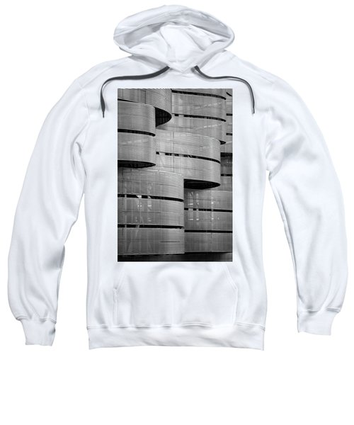 Sweatshirt featuring the photograph Metal Waves by Stephen Holst