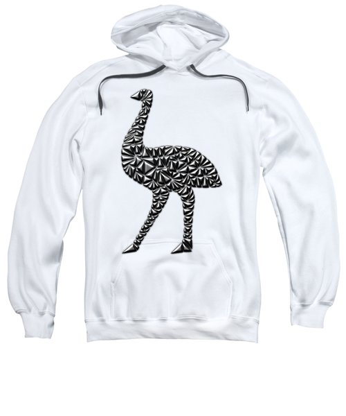 Metallic Emu Sweatshirt by Chris Butler