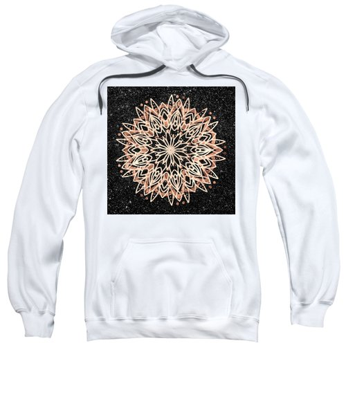 Metallic Mandala Sweatshirt