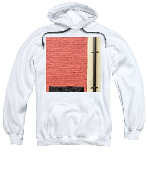 Sweatshirt featuring the photograph Mews Spout by Eric Lake