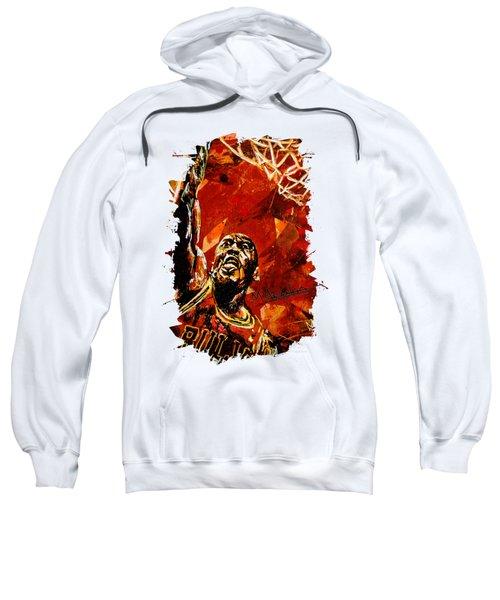 Michael Jordan Sweatshirt by Maria Arango